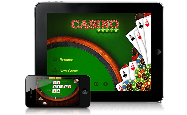 Mobile Poker available here
