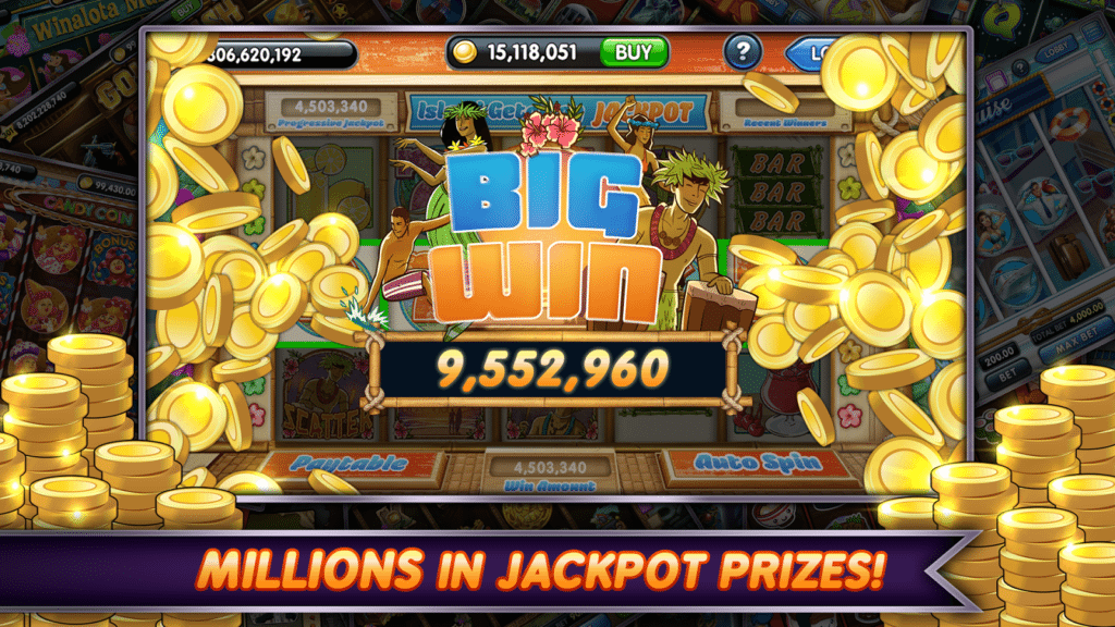 About jackpot slot games