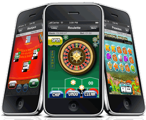 play the many iphone casino games