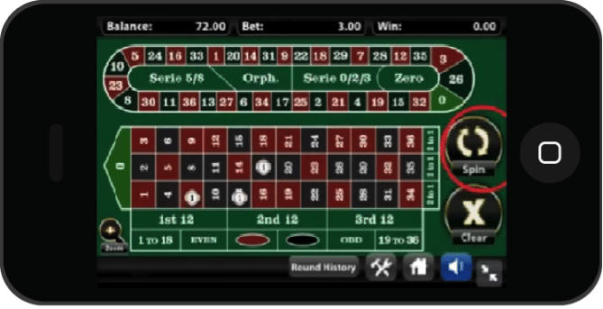 play iphone Roulette app real money games
