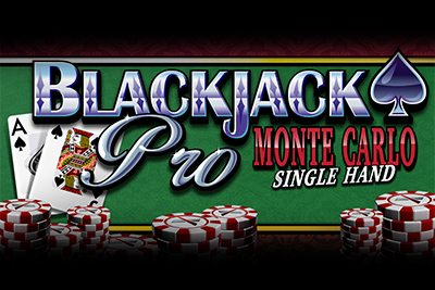 BlackjackPro MonteCarlo Single hand