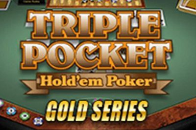 Triple Pocket Hold em Gold